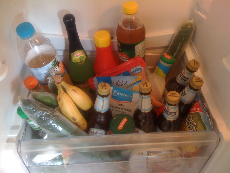 Lebensmittel Mix Kühl