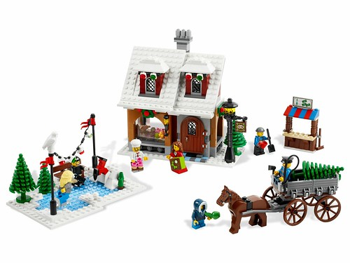10216 Winter Village Bakery