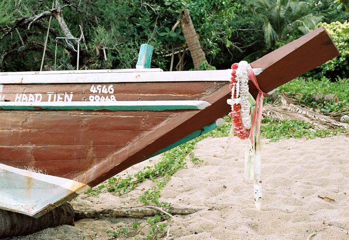 Haad Tien longboat