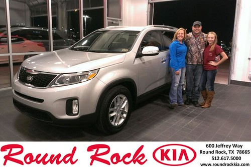 Thank you to Julie Smirl on your new 2014 #Kia #Sorento from Ruth Largaespada and everyone at Round Rock Kia! #NewCarSmell by RoundRockKia
