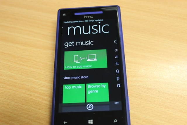 Xbox Music on Windows Phone 8.1