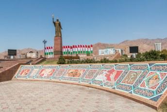 Wel raar dat hij zo vereerd wordt, zijn rijk besloeg voornamelijk Oezbekistan waar hij ook begraven ligt.