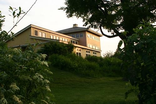 View of Boston Nature Center