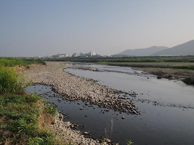 Rock crushing plant in Yasu City
