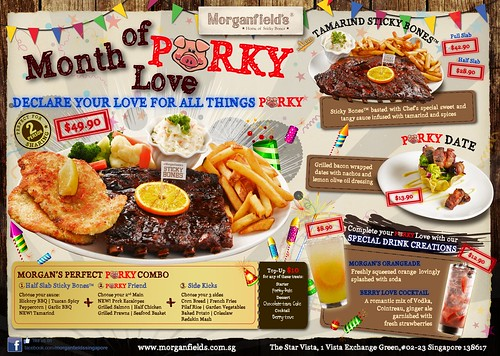 Morganfield February Promotion