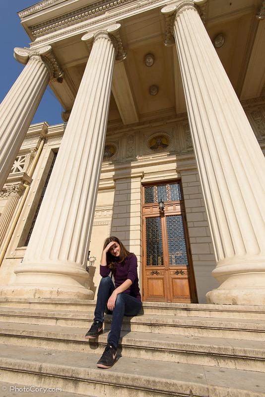 scari si coloane Ateneu, Bucuresti