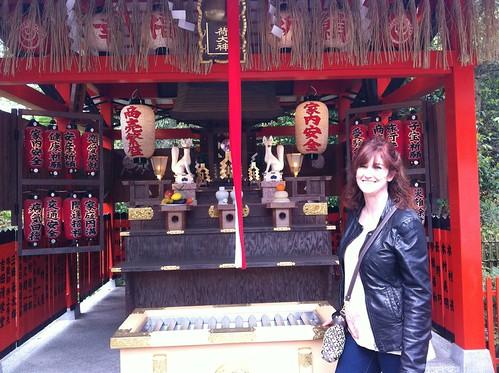 Mom at Kiyomizu-dera