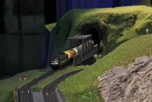 Model Train Exhibit, Jerusalem