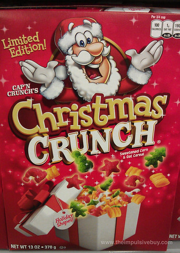 Limited Edition Cap'n Crunch's Christmas Crunch