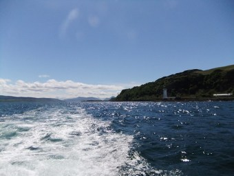 Leaving the Sound