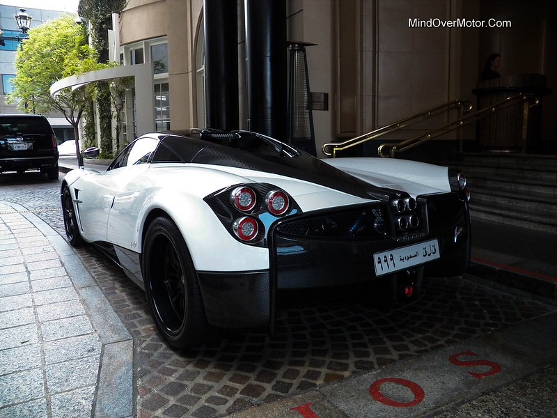 Pagani Huayra spotted in Beverly Hills, CA