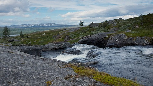 Bridge at Nedre Doarrovatnet
