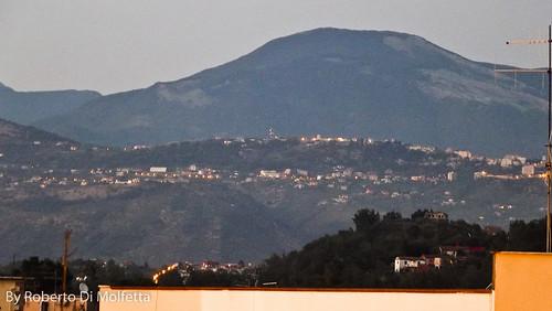 Frosinone - Paesaggio verso Nord-Est by Roberto Di Molfetta