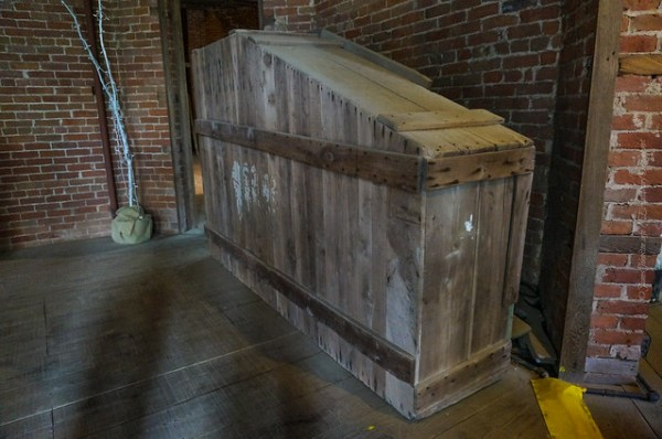 Longwood Planation - Old Piano Shipping Crate