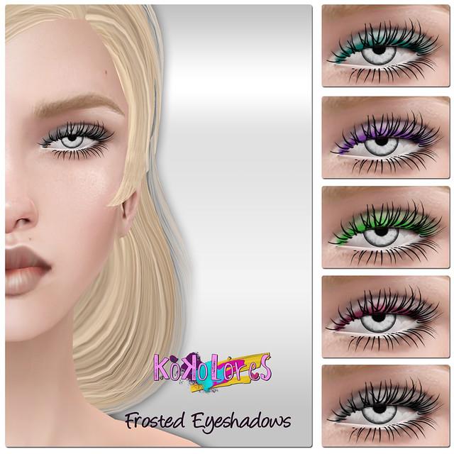 [KoKoLoReS] BP - Frosted Eyeshadows