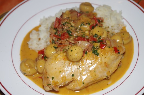 Chicken breasts in a sherry, cream and mushroom sauce by La belle dame sans souci