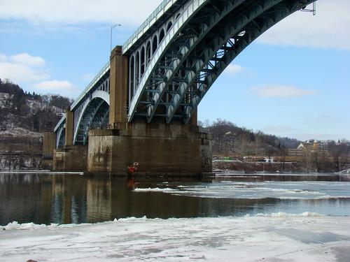 Washington Crossing Bridge, Feb 3rd 2014