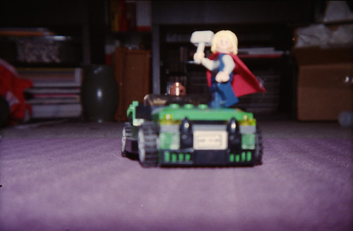 Thor bothering Fury
