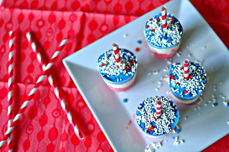 4th of July Pudding Pops 7