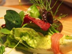 Start detail: Herbs and pistachio