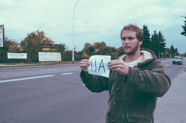 Hitchhiking into Ukraine-6