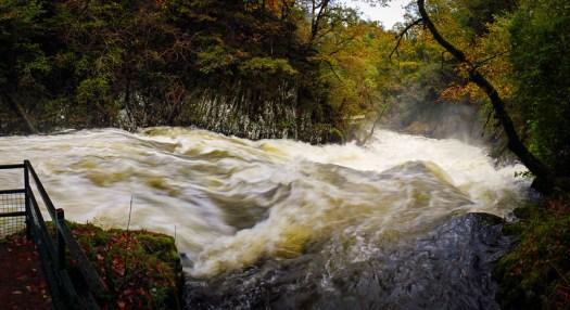 Rhaeadr Ewynnol - Swallow Falls