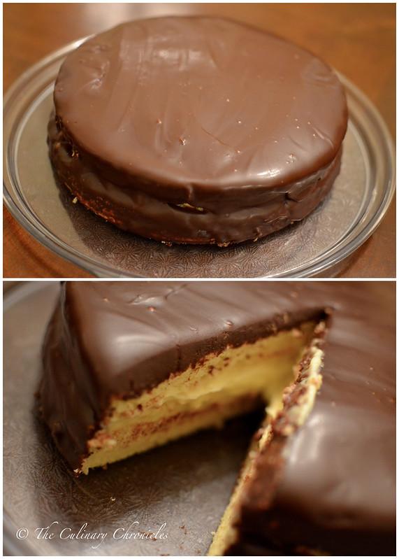 Boston Cream Pie Cake Recipe