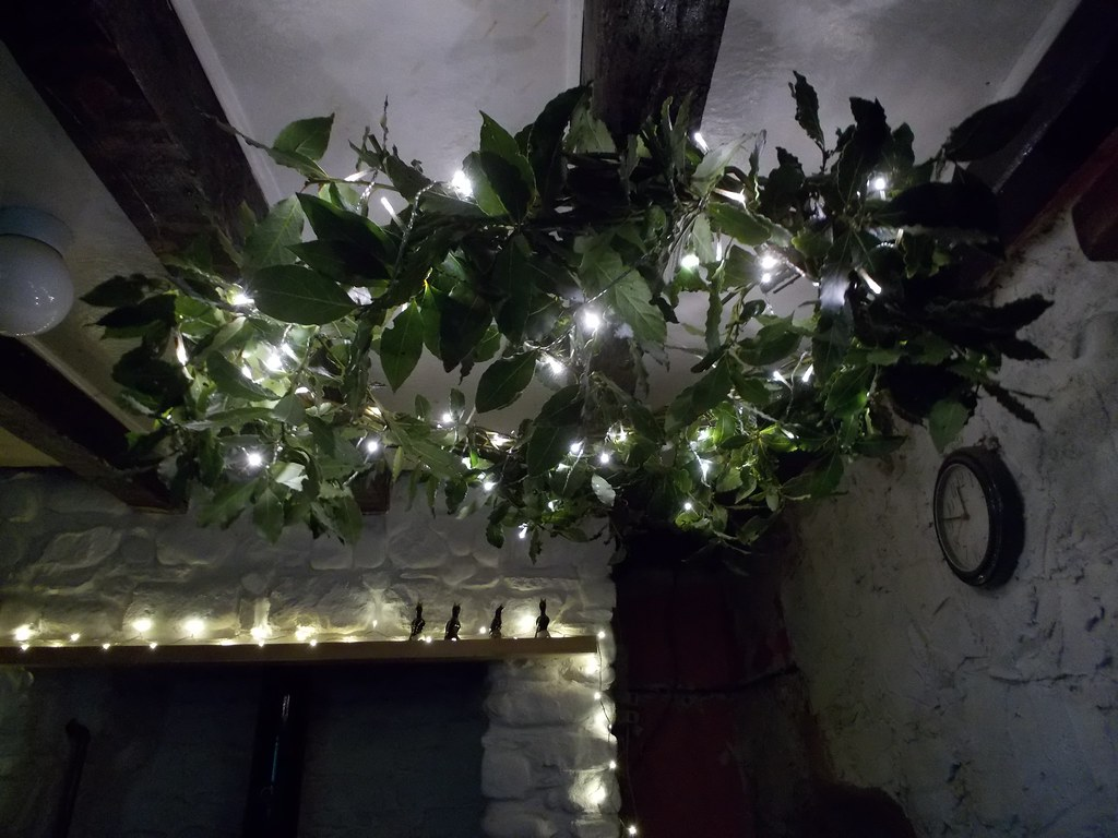 ceiling wreath