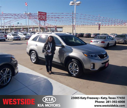 Happy Anniversary to Gustavo Ariza on your 2014 #Kia #Sorento from Rizkallah Elhallal and everyone at Westside Kia! #Anniversary by Westside KIA