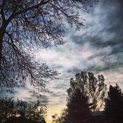 #sunset starting over my house by @MySoDotCom