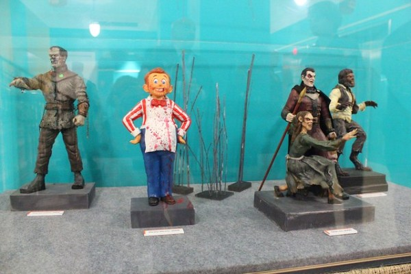 Halloween Horror Nights exhibit and presentation at the Orlando History Center