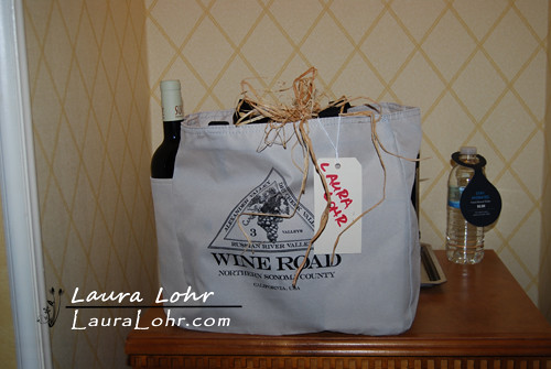 Wine Road Gift Bag