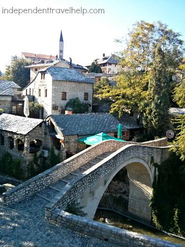 Aslant Bridge, Mostar