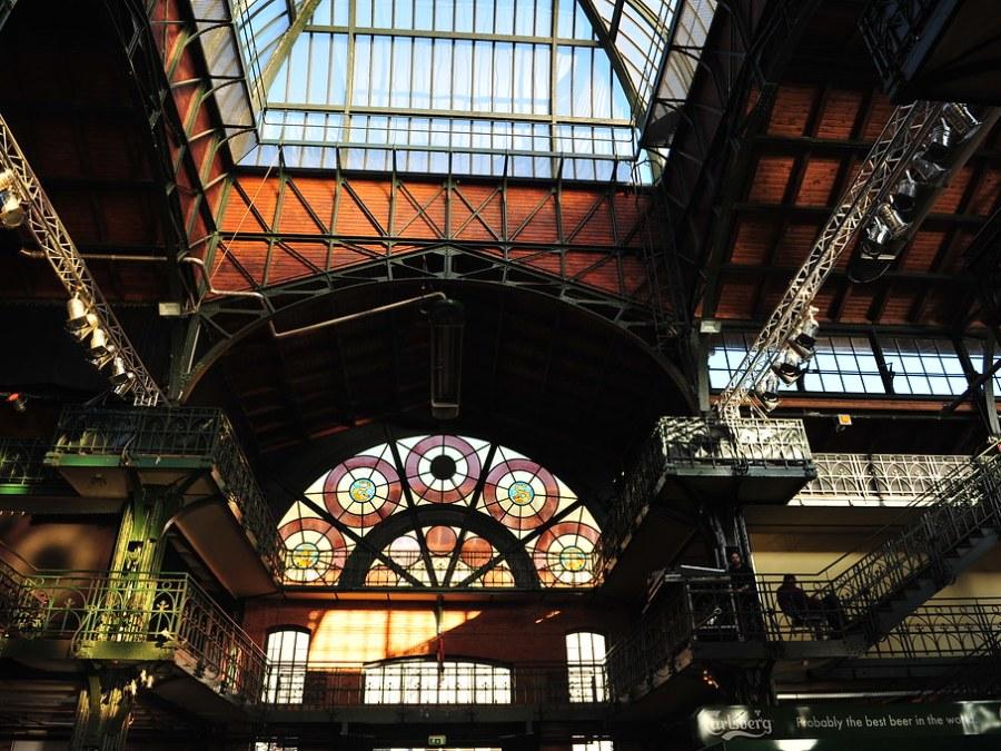 Hamburg Fischmarkt, Fischauktionshalle, foto door Olaf Wondraczek
