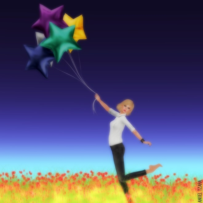 Big Wishes Upon Balloon Stars