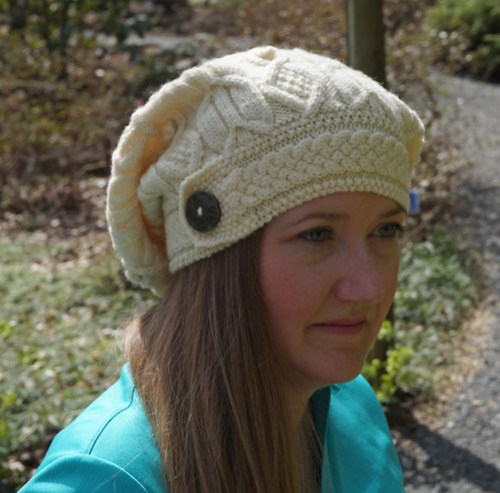 Master Knitter Level 3 Aran hat