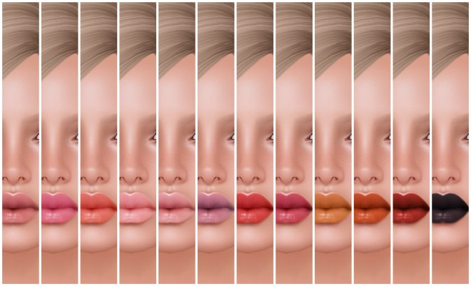 -Glam Affair - Elit Lipstick (12 Colors)