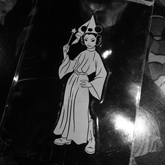 New window decal for my car! It's like they made it just for me! #starwars #princessleia #disneyland