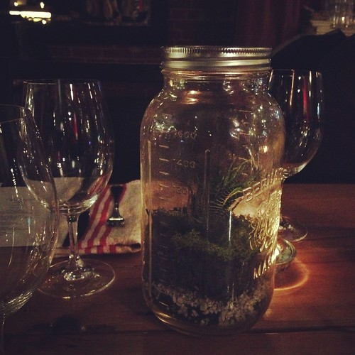 Mason Jar Terrarium at The Guild
