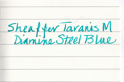 Sheaffer Taranis on Moleskine