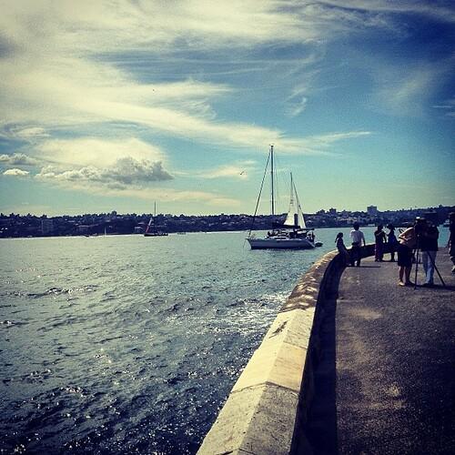 #sydney harbour #australia by @MySoDotCom