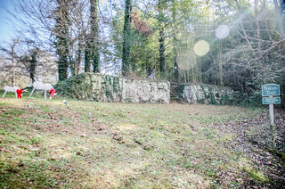 Pacolet stone wall