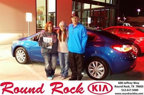 Thank you to Courtney Stoffel on your new 2014 #Kia #Forte from Roberto Nieto and everyone at Round Rock Kia! by RoundRockKia