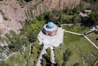 En dat was dit mausoleum.