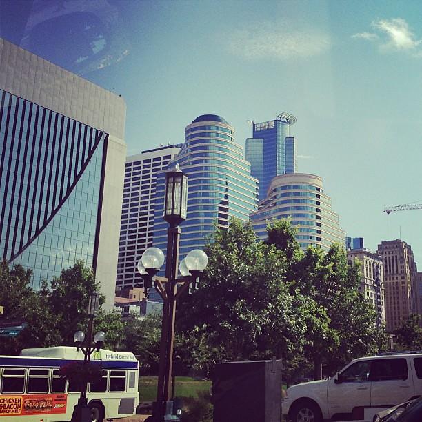 Downtown Minneapolis Latergram