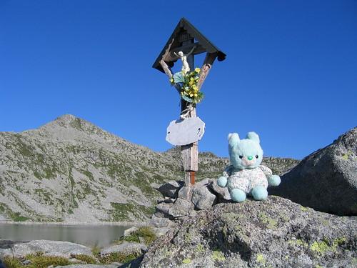 Choppy, momento spirituale al Lago della Vacca