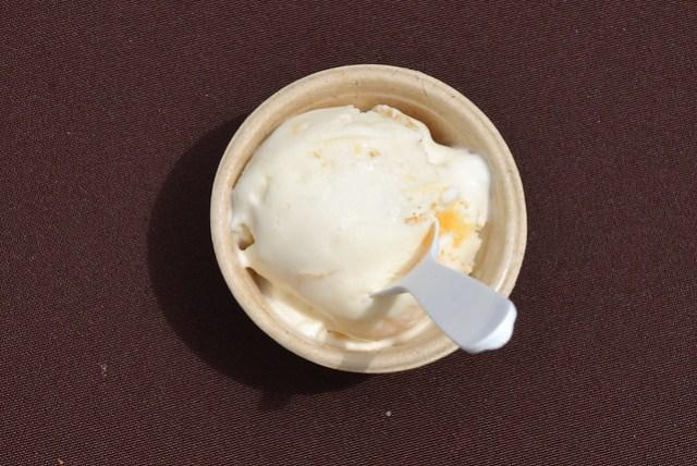 McConnell's Fine Ice Creams summer peach ice cream
