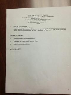 Agenda page 2 @ GLPC 2013-11-25