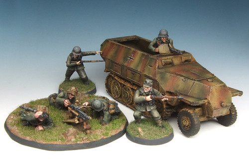 Bolt Action Late War Germans