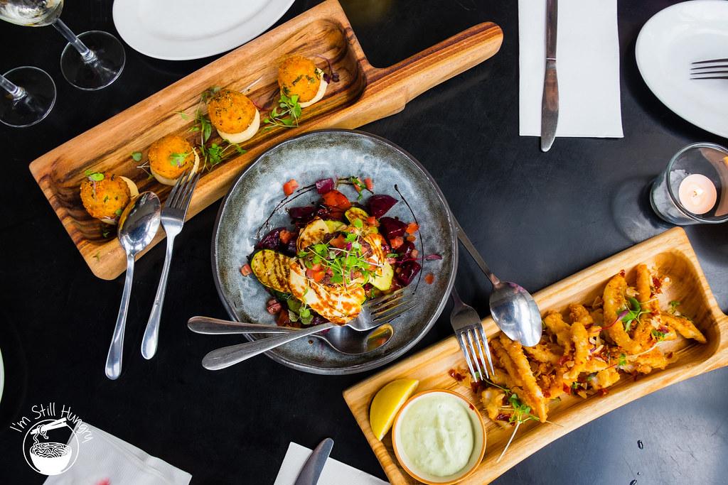 Blackbird cafe tasting platter